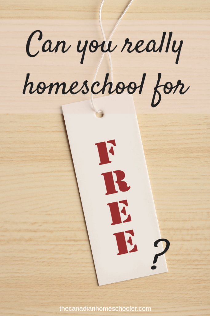 Can you really homeschool for free?