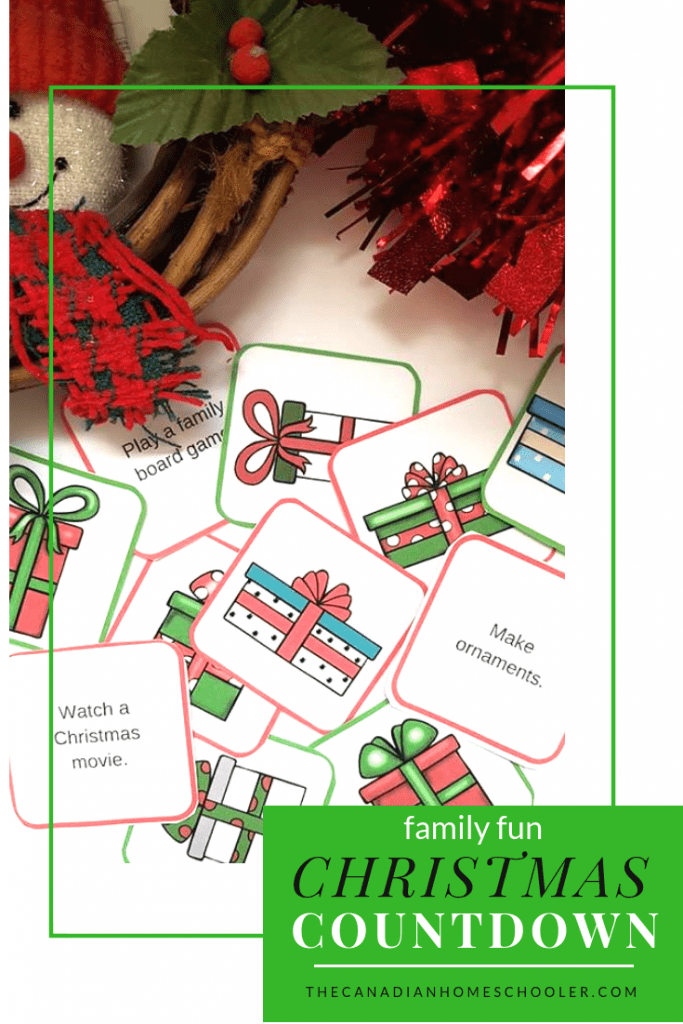 Family Fun Christmas Countdown