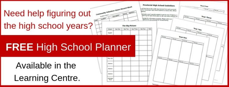 Need Help Planning High School? High School Planner