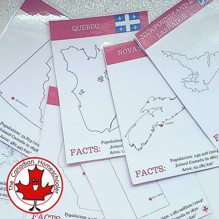Canadian Provincial Cards