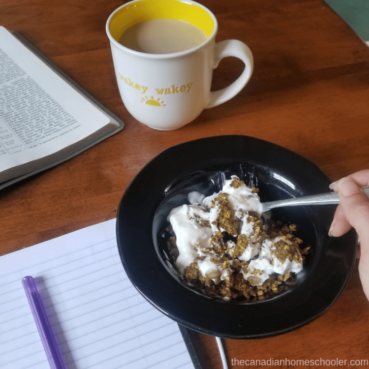 Coffee and Breakfast Morning Routine for Self-Care