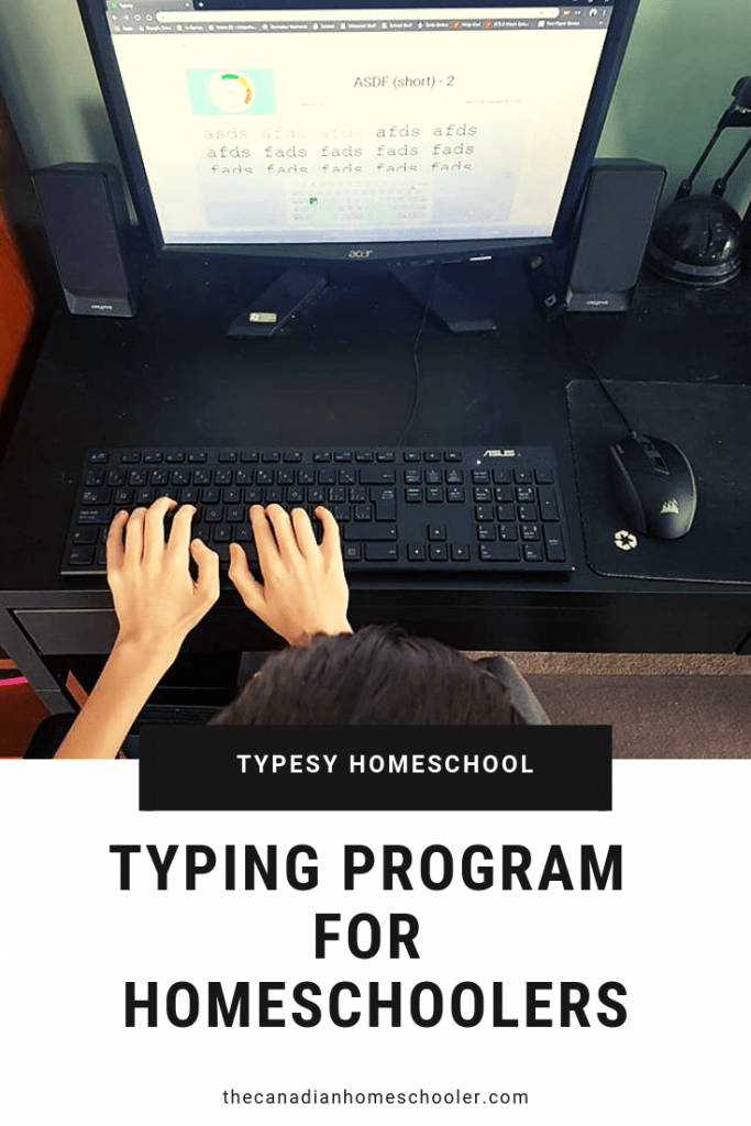 Typing Program For Homeschool