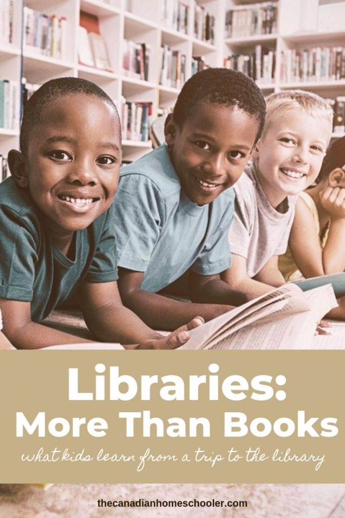 Kids at a library. Libraries: More than Books
