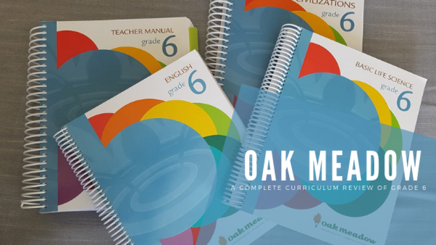 Oak Meadow {Review}: A Complete Curriculum