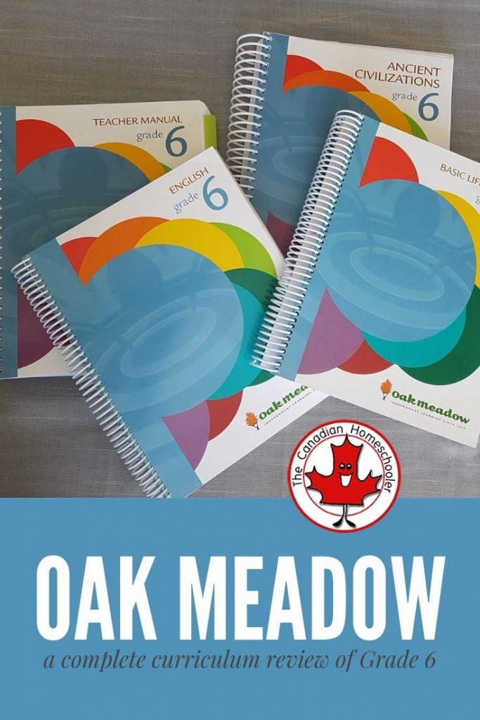 Oak Meadow Review of Grade 6