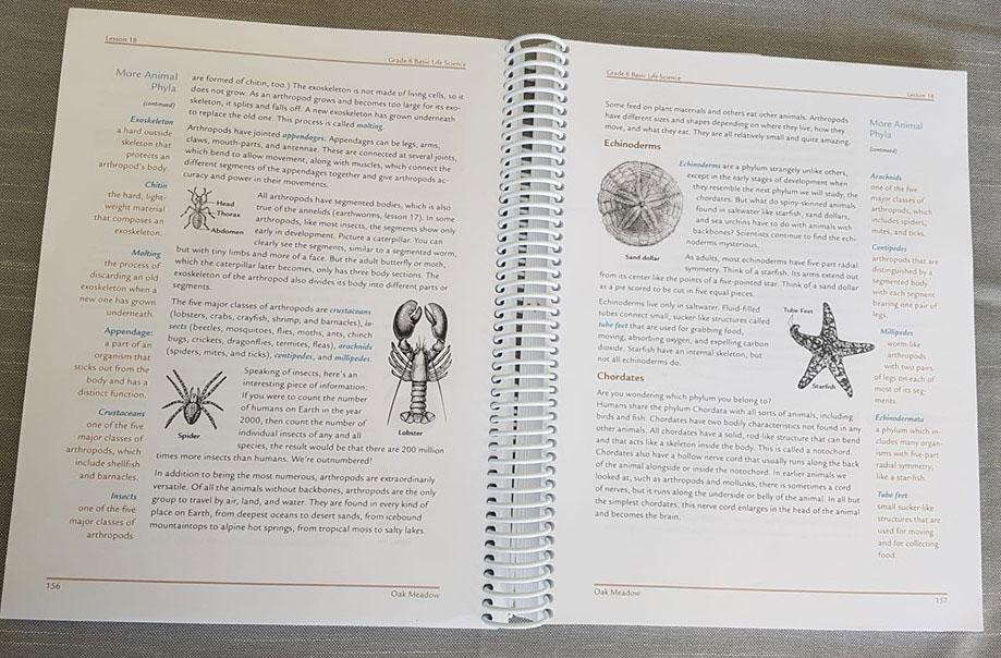 Inside Text for Oak Meadow Grade 6 Science
