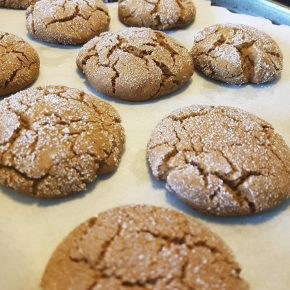 The Great Canadian Adventure: Acadian Molasses Cookies